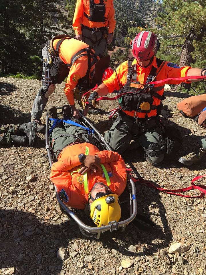 West Valley Search and Rescue Training